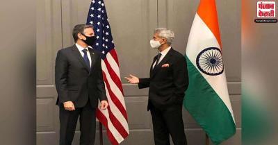 जयशंकर ने एंटनी ब्लिंकन से की मुलाकात, भारत का सहयोग करने के लिए US का धन्यवाद दिया