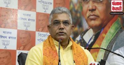 TMC के गुंडों का अत्याचार झेल रहे कार्यकर्ताओं के साथ खड़ी है BJP, हम भागेंगे नहीं लड़ेंगे : दिलीप घोष