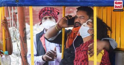 देश में मंडराता कोरोना का साया! दिल्ली-महाराष्ट्र समेत 72 फीसदी से अधिक मामले 10 राज्यों में