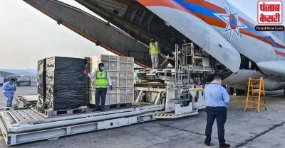 कहां जा रही है विदेश से प्राप्त हजारों टन कोरोना सहायता सामग्री, केंद्र सरकार ने दिया ये जवाब