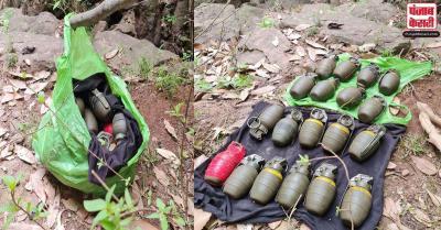 पुंछ में सुरक्षाबलों ने आतंकवादियों के ठिकाने का किया पर्दाफाश, 19 हथगोले बरामद