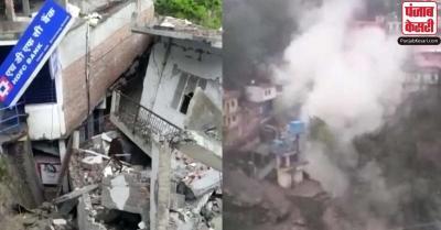 उत्तराखंड: देवप्रयाग में बादल फटने से भारी तबाही,IIT का भवन ध्वस्त, बचाव अभियान जारी