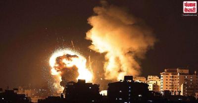 इजराइल और फिलिस्तीन के बीच संघर्ष जारी, गाजा में हमास नेता के घर बमबारी की
