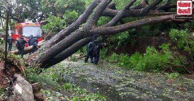 चक्रवात Tauktae का प्रकोप : मुंबई में भारी बारिश की संभावना, पालघर में दो और ठाणे में एक लोगों की मौत