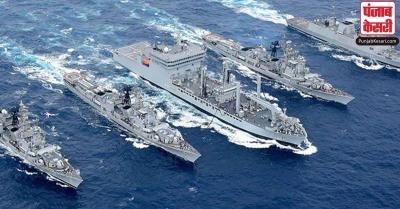 बंगाल की खाड़ी में चक्रवात के मद्देनजर भारतीय नौसेना ने चार युद्धपोतों को किया तैनात