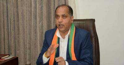 सीएम ठाकुर ने सोलन जिले में किया अस्थायी कोविड अस्पताल का वर्चुअली उद्घाटन