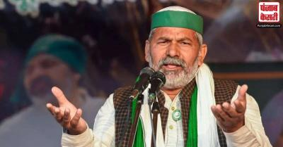 राकेश टिकैत ने किसानों कि रिहाई के लिए हरियाणा के सदर थाने में धरना जारी रखा