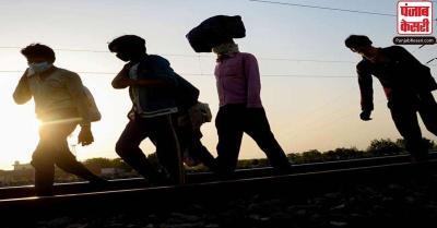 कोरोना महामारी के सुस्त पड़ते ही 'परदेस' लौटने लगे प्रवासी मजदूर, काम की तलाश में किया बड़े शहरों का रुख