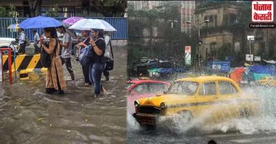 भारी बारिश से बंगाल में जनजीवन हुआ बेहाल, कोलकाता समेत कई जगहों भारी जलजमाव