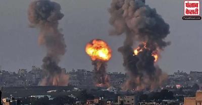 इजरायल ने गाजा पट्टी में हमास की सैन्य चौकियों पर बरसाए बम, दी चेतावनी