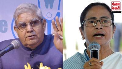 धनखड़ का ममता पर वार, कहा- राज्य की हिंसा खतरनाक व परेशान करने वाली, CM का शुतुरमुर्गी रवैया स्वीकार्य नहीं