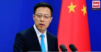 भारत के साथ सीमा मुद्दे को शांतिपूर्ण बातचीत से सुलझाया चाहिए : चीन
