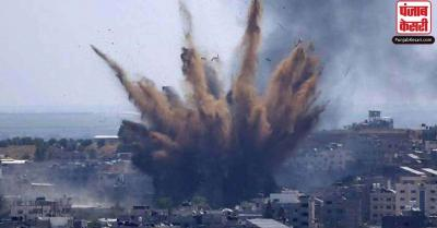 हमास के विस्फोटक भरे गुब्बारों का इजराइल ने दिया मुहतोड़ जवाब, रातभर गिराई मिसायलें