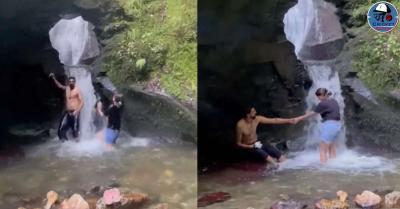 इशांत शर्मा ने वाइफ संग लिए 'Water Fall' के मजे, मस्ती भरा वीडियो हुआ वायरल