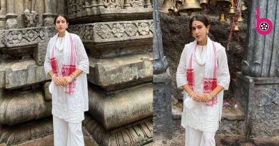 सारा अली खान ने किए कामाख्या देवी मंदिर के दर्शन, फोटो देख लोगों ने किया बुरी तरह ट्रोल