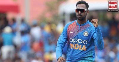 ऑलराउंडर क्रुणाल पंड्या को हुआ कोरोना, भारत-श्रीलंका के बीच दूसरा T20 मैच सस्पेंड