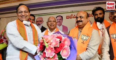कर्नाटक के नवनिर्वाचित मुख्यमंत्री बसवराज बोम्मई को बधाइयां मिलनी शुरू