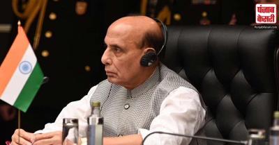 रक्षा मंत्री राजनाथ सिंह की तीन दिवसीय दुशांबे यात्रा शुरू, SCO सम्मेलन में होंगे शामिल
