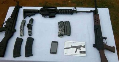 पूर्वोत्तर में बढ़ रही हथियारों की तस्करी, असम राइफल्स और मणिपुर पुलिस ने संयुक्त अभियान में जब्त किया गोला-बारूद