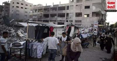 हमास के हिंसक प्रदर्शन के कारण बढ़े तनाव के बीच इजराइल ने गाजा पट्टी की नाकेबंदी में ढील के कदमों को दी मंजूरी