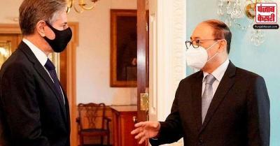 विदेश सचिव श्रृंगला ने ब्लिंकन से मुलाकात की, द्विपक्षीय संबंधों, अफगानिस्तान के हालात पर चर्चा की