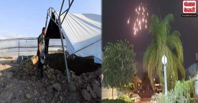 जंग की और अग्रसर इजरायल-हमास, गाजा से दागे गए सिलसिलेवार रॉकेट तो इजराइली लड़ाकू विमानों ने किया हमला