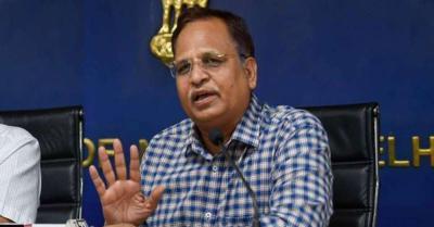 सत्येंद्र जैन ने केंद्र पर लगया आरोप, कहा- दिल्ली में ऑक्सीजन की कमी पर राजनीति की