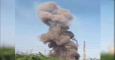 कर्नाटक के केमिकल बॉयलर में विस्फोट , 4 लोग जख्मी,फायर ब्रिगेड की टीम मौके पर पहुंची