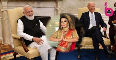 अमेरिका पहुंचे PM मोदी से राखी सावंत ने कर डाली ये खास डिमांड, मजेदार वीडियो हुआ वायरल