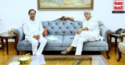CM चंद्रशेखर राव ने केंद्रीय मंत्री गजेंद्र सिंह शेखावत से की मुलाकात, नदी-जल विवाद से संबंधित कई मुद्दों पर हुई चर्चा