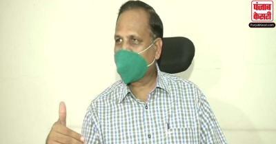 दिल्ली में सातवें सीरोसर्वेक्षण के दौरान लिये जाएंगे 28000 नमूने : स्वास्थ्य मंत्री सत्येंद्र जैन