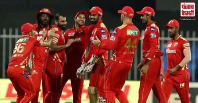 पंजाब किंग्स की शानदार गेंदबाजी, सनराइजर्स हैदराबाद को रोमांचक मैच में पांच रन से हराया