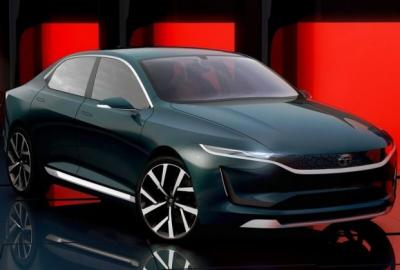 Tata E-Vision Sedan Exterior And Interior Photos – Gallery