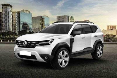 New Renault Grand Duster 7-Seater Could Look Like This