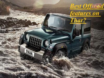 5 off-road features on Mahindra Thar 2020
