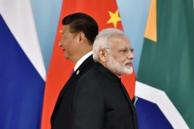 Chinese President Xi Jinping and Indian Prime Minister Narendra Modi. Credit: Reuters