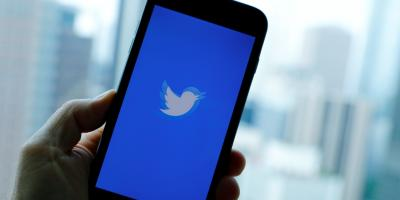 A Twitter app loads on an iPhone in this representative image. Photo: Reuters