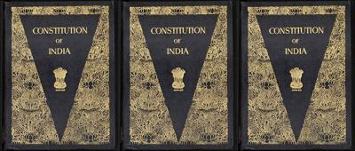 The Constitution of India. Credit: Wikipedia Commons