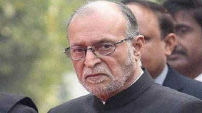 File photo of Delhi LG Anik Baijal. Photo: PTI