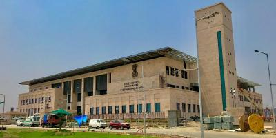 The Andhra Pradesh high court in Amaravati. Photo: IM3847/Wikimedia Commons CC BY SA 4.0