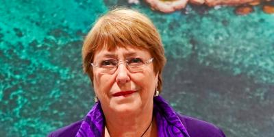 United Nations High Commissioner for Human Rights Michele Bachelet. Photo: Twitter/@mbachelet