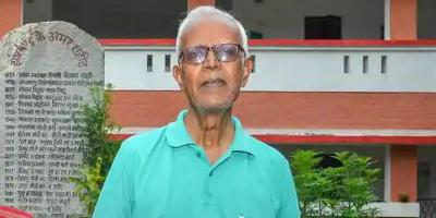 A file photo of human rights activist Stan Swamy. Photo: PTI