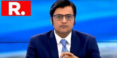 Arnab Goswami on Republic TV. Photo: PTI