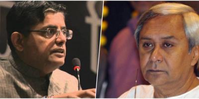 Baijayant 'Jay' Panda, BJP national vice-president and spokesperson (left) and Odisha chief minister Naveen Patnaik (right).