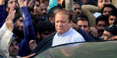 Former Pakistan Prime Minister Nawaz Sharif. Photo : Reuters/Mohsin Raza/Files