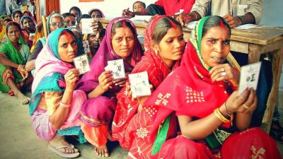 Women voters for representational purpose. Photo: Reuters/Files.