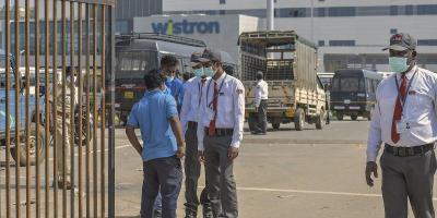 The Wistron plant in Bengaluru. Photo: PTI