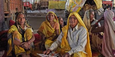 Women farmers from Haryana and Uttar Pradesh supporting the Kisan Andolan. Photo: Jignesh Mistry