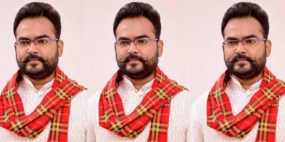 BJP MLA Brajesh Kumar Prajapati. Photo: Facebook.