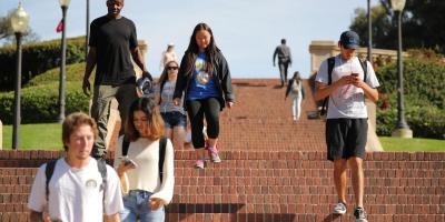 Representative Photo: University of California Los Angeles (UCLA) students walk on the UCLA campus in Los Angeles, California, U.S. November 15, 2017. Photo:Reuters/Lucy Nicholson